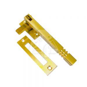 Satin squared window handle